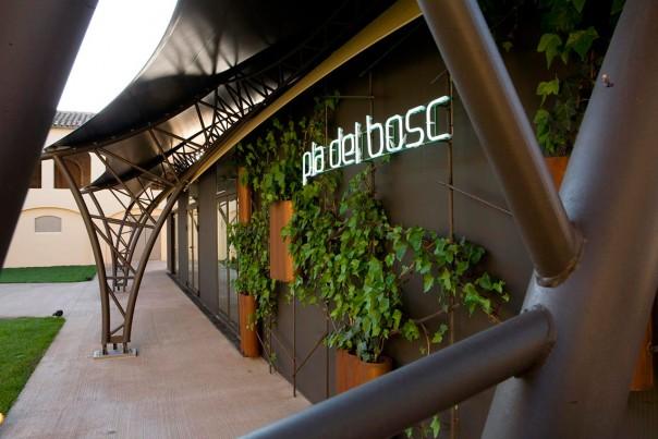 Pla del bosc_ entrada restaurante