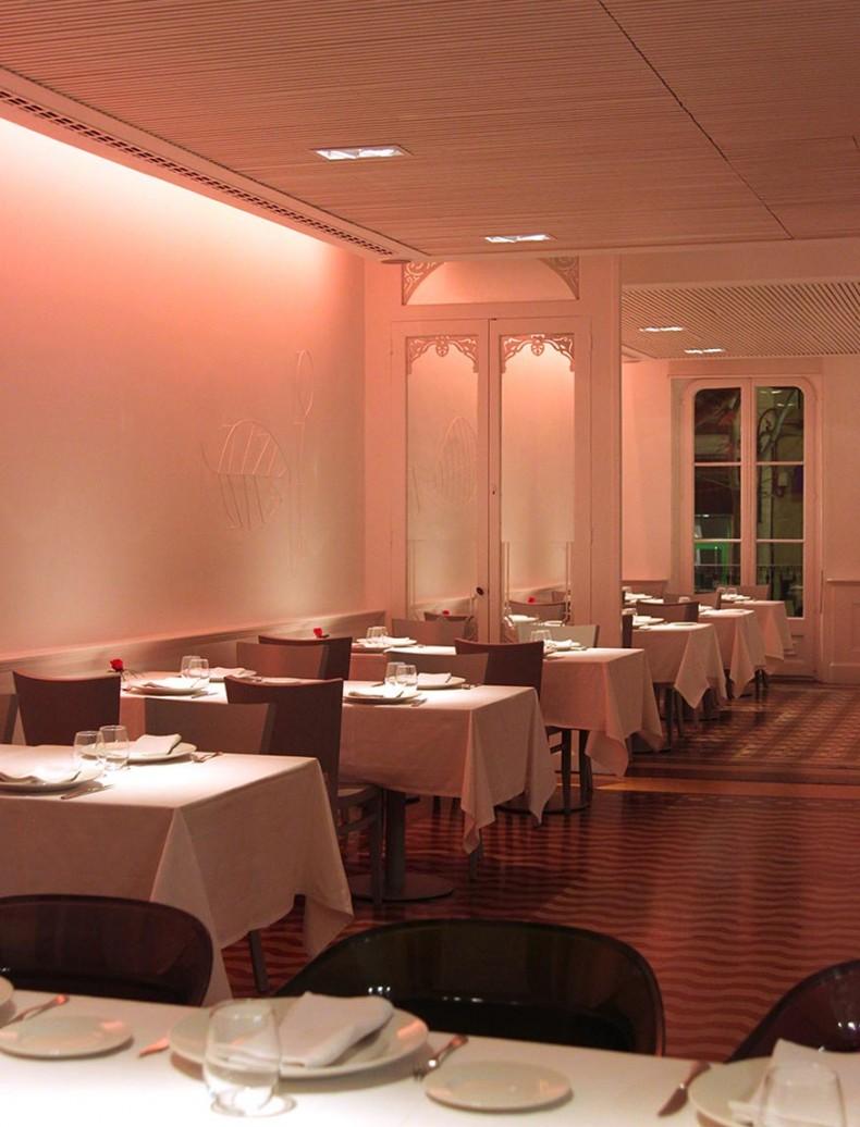 Cal Ble restaurante-diseño iluminación