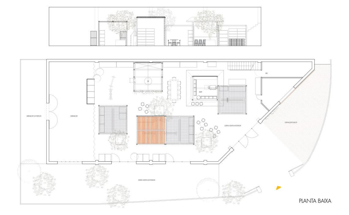 El Silu_diseño garden bar