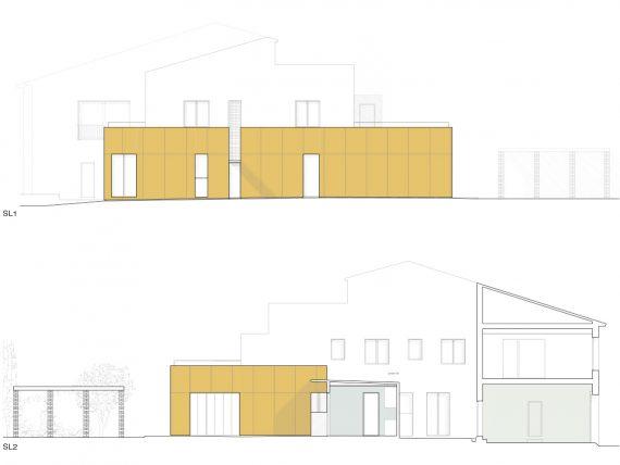 Casa MP diseño exterior fachadas