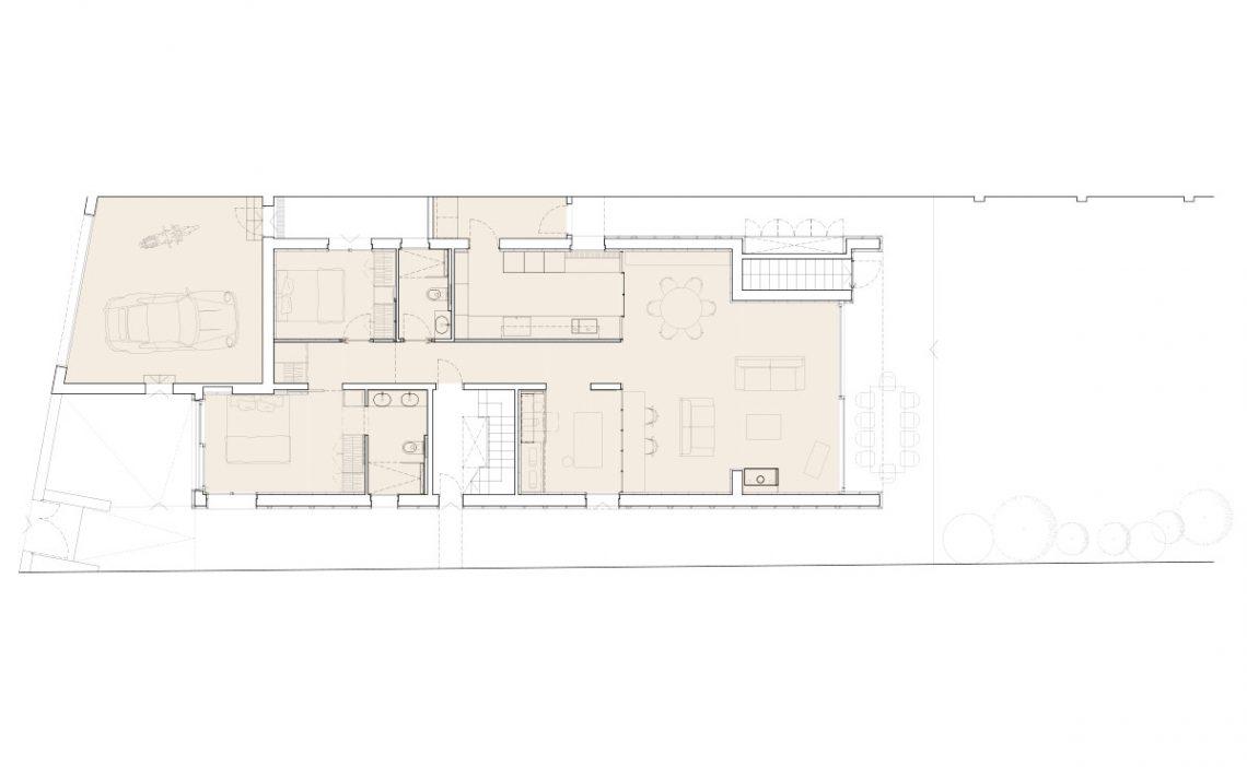 Casa MP diseño planta baja