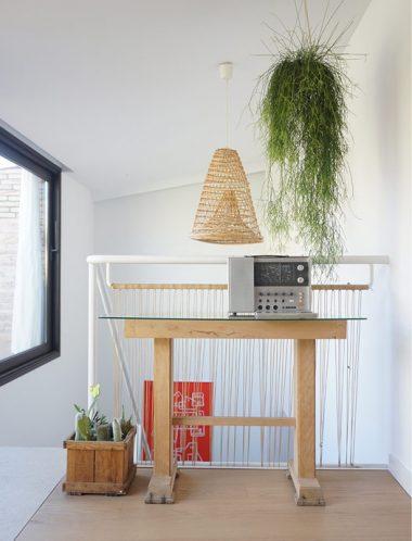 Casa RL_diseño hall planta primera