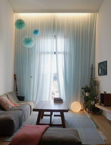 Casa RL_diseño sala de estar