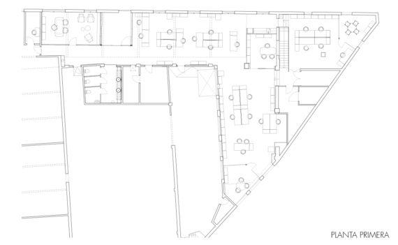 Headquarters_distribución espacio