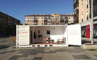 container Airbnb_instalación efímera