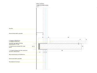 Nuar_detaile constructivo diseño retail